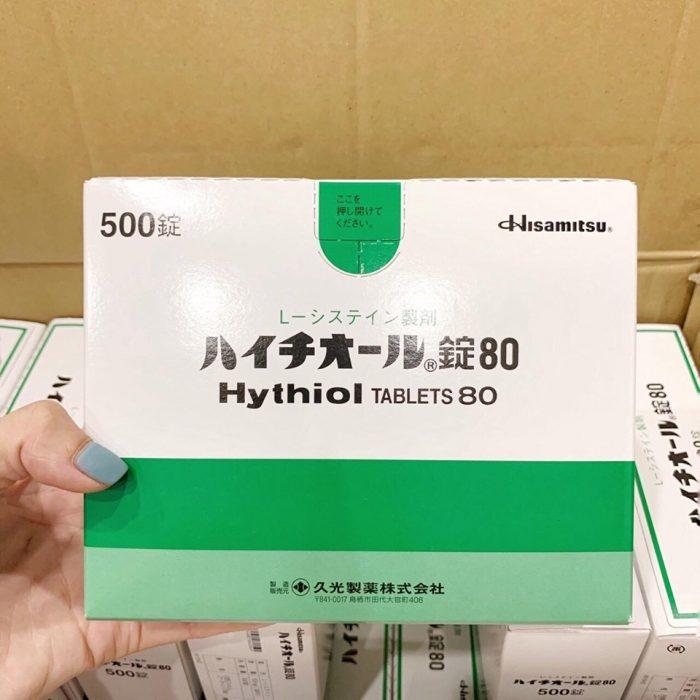 Viên uống trắng da hisamitsu Hythiol