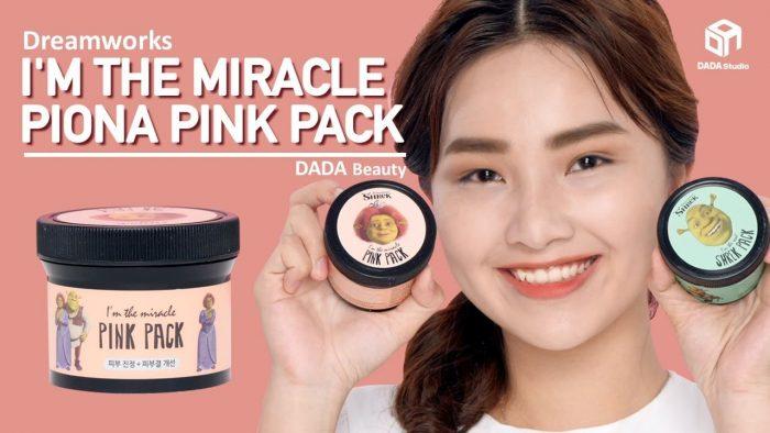 Mặt nạ đất sét Dreamworks I'm The Miracle Fiona Pink shrek Pack