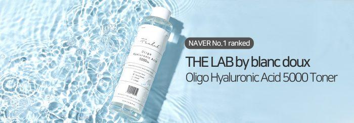 Nước hoa hồng The Lab Oligo Hyaluronic Acid 5000