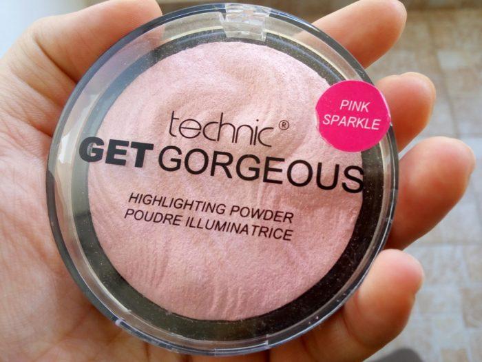 Phấn bắt sáng Technic Get Gorgeous Highlighting Powder