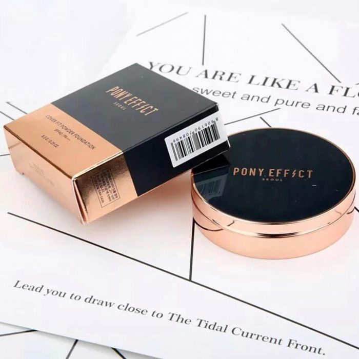 Phấn nén Pony Effect Seoul Cover Fit Powder Foundation SPF 40 PA+++