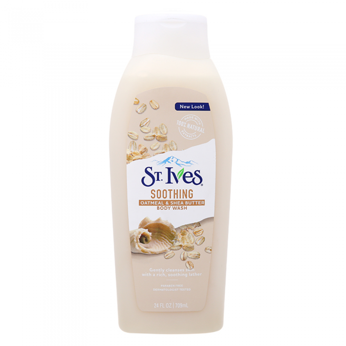Sữa Tắm ST. IVES Oatmeal & Shea Butter Soothing Body Wash