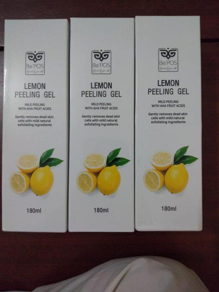 Tẩy Da Chết Be'POS Lemon Peeling Gel