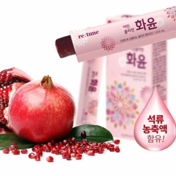 Thạch collagen lựu Hàn Quốc