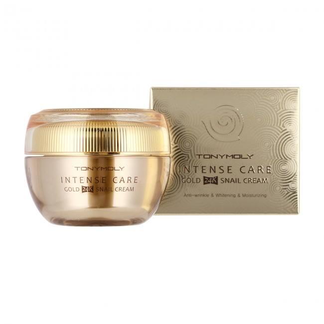 Kem dưỡng Tonymoly Intense Care Gold 24K Snail Cream