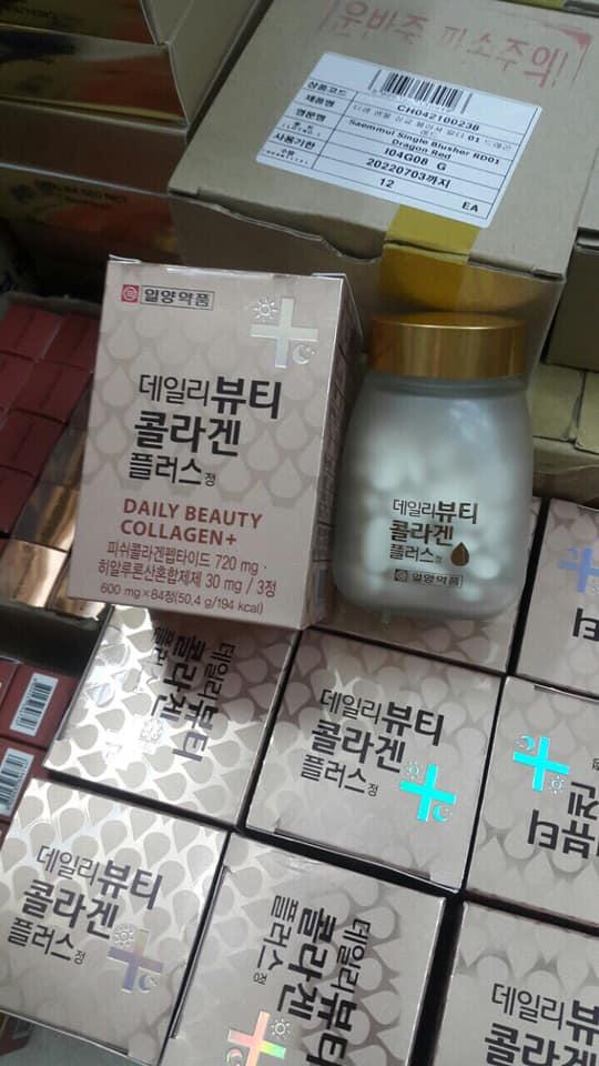 Viên Uống Trắng Da Daily Beauty Collagen +
