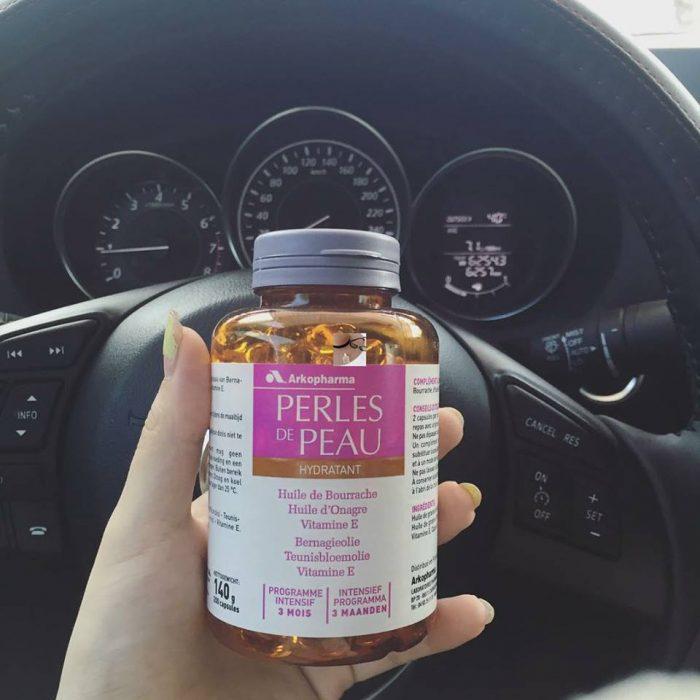 Viên uống đẹp da Perles de Peau Hydratant
