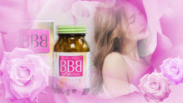 Viên uống nở ngực Orihiro BBB Best Beauty Body