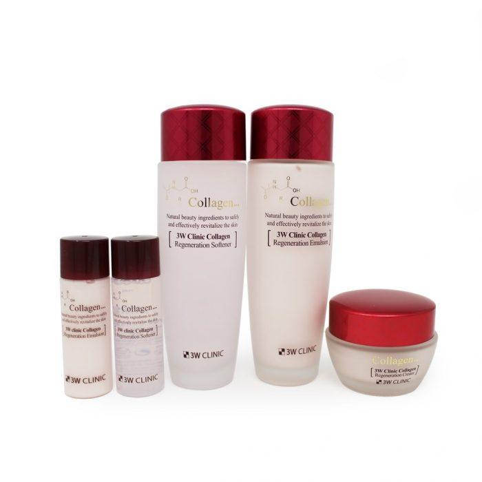 Bộ dưỡng 3W Clinic Collagen regeneration