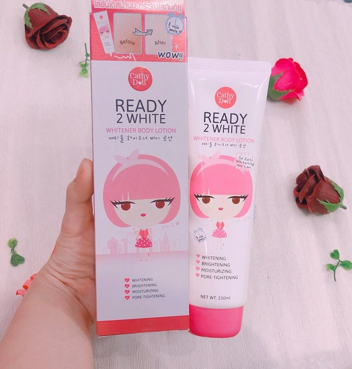 Dưỡng Thể Cathy Doll Ready 2 White Whitener Skin Whitening Body Lotion