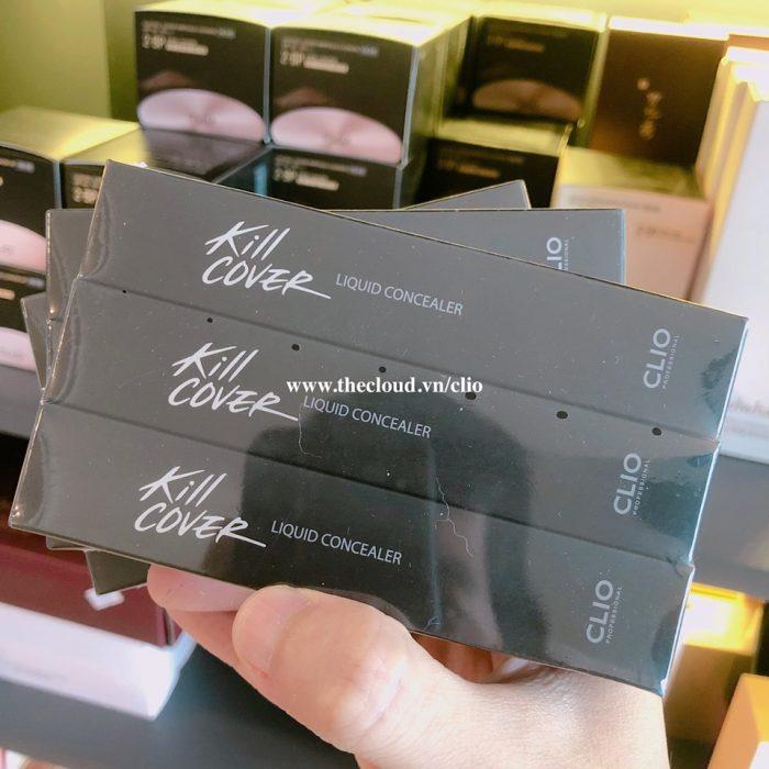 Kem Che Khuyết Điểm Clio Kill Cover Liquid Concealer
