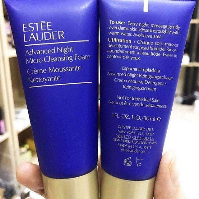 Sữa rửa mặt Estee Lauder Advanced Night Micro Cleansing