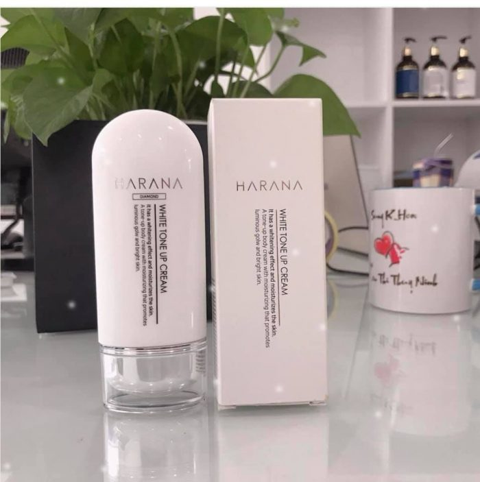 Kem dưỡng trắng da Harana Tone Up White Cream