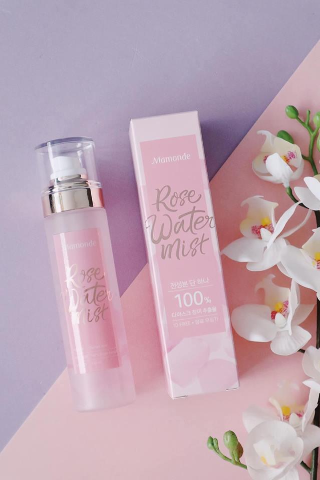 Xịt Khoáng Mamonde Rose Water Mist