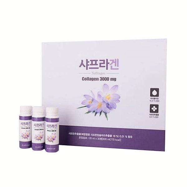 Nước uống nhụy hoa nghệ tây Saffron Collagen 3000mg
