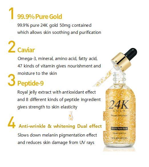 serum Sur.medic 24k gold repair ampoule