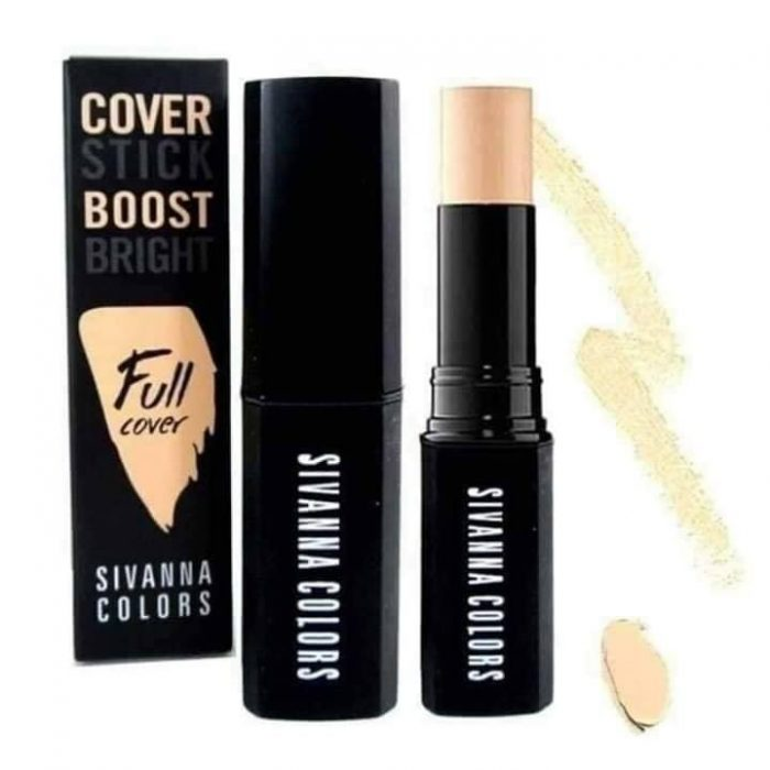 Thanh che khuyết điểm SIVANNA COLORS Cover Stick Boost Bright