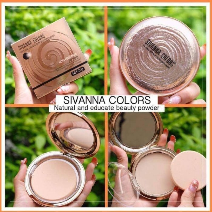 Phấn Phủ Sivanna Colors Natural And Delicate Beauty Power