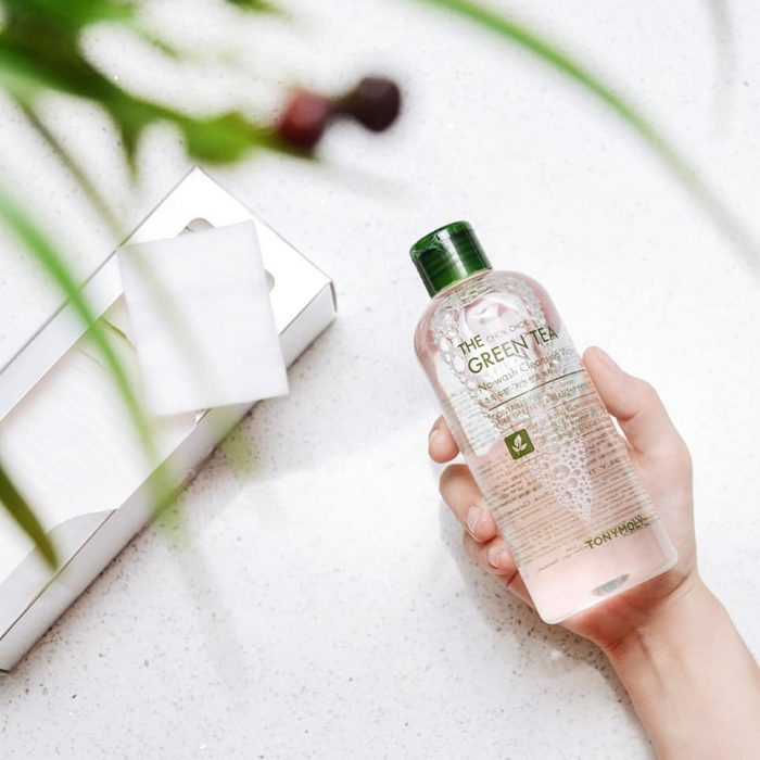 Nước tẩy trang Tonymoly The Chok Chok Green Tea No-wash Cleansing Water