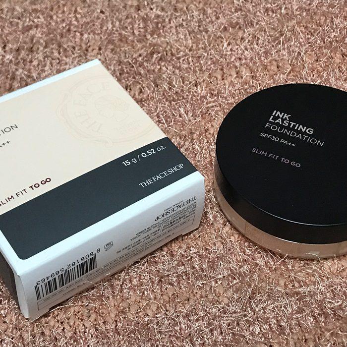Phấn Nước The Face Shop Ink Lasting Cushion SPF30 PA++
