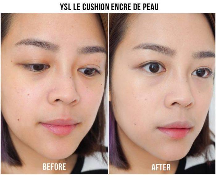 Phấn Nước YSL Le Cushion Encre De Peau Fushion Ink Foundation SPF23/ PA++