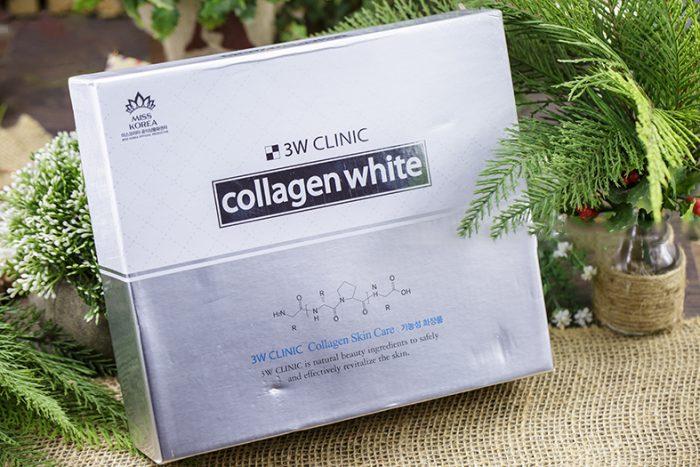 Bộ dưỡng Trắng da 3W Clinic Collagen White