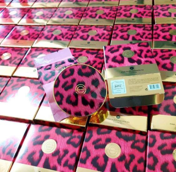 Phấn Nước DPC Pink Aura Cushion SA SPF50/PA+++