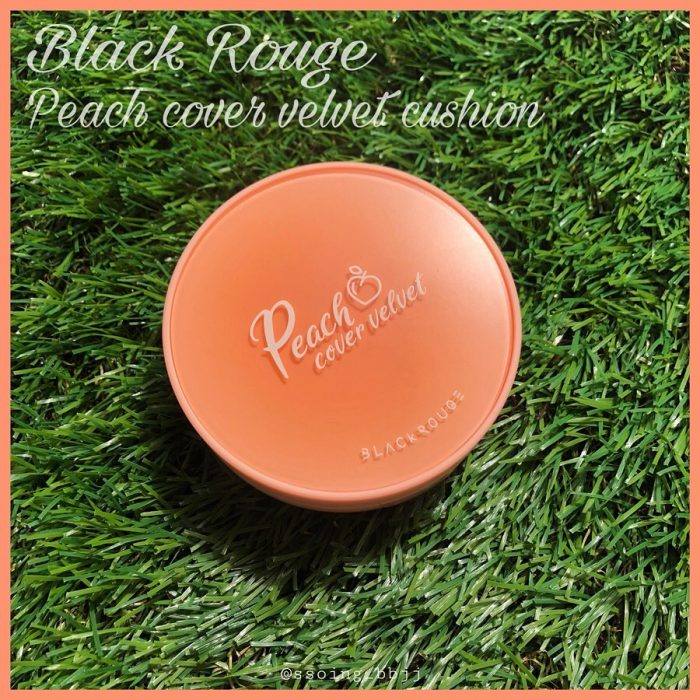Phấn Nước Black Rouge Peach Cover Velvet Cushion