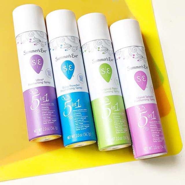 Dung dịch vệ sinh phụ nữ SUMMER'S EVE DEODORANT SPRAY