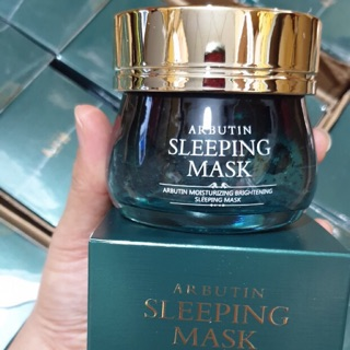 Mặt nạ ngủ arbutin sleeping mask