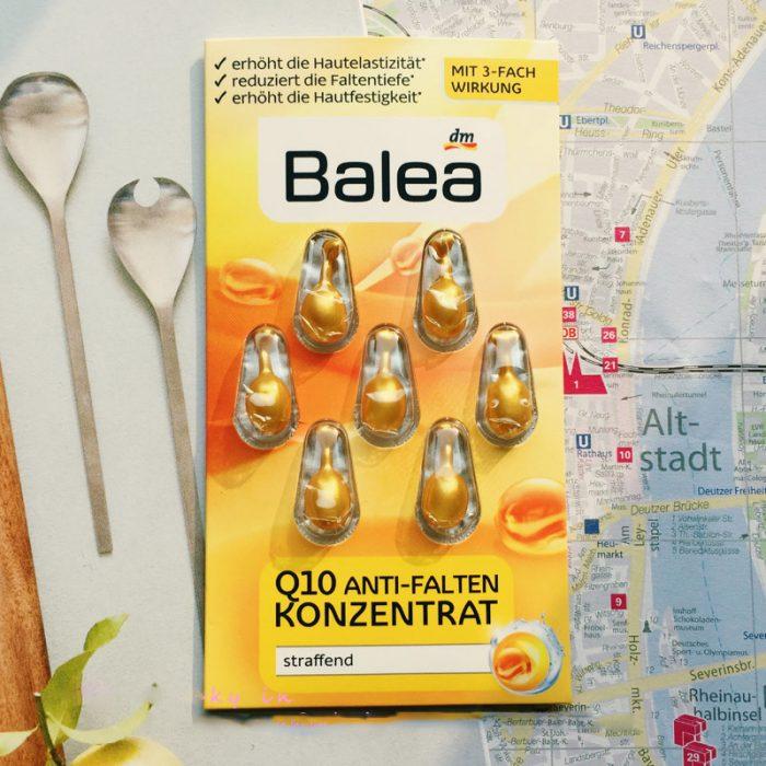 Viên Nang Balea Q10 Anti Falten Konzentrat