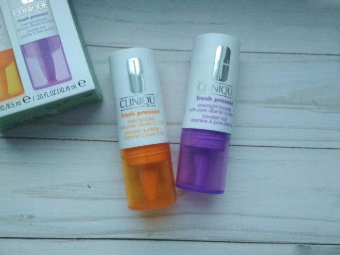 Tinh chất CLINIQUE Fresh Pressed Daily Booster with Pure Vitamin C