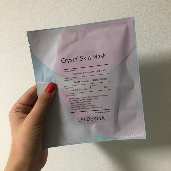 Mặt nạ Celderma Crystal Skin Mask