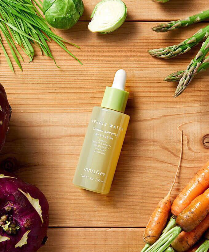 Tinh chất Innisfree Veggie Water Toning Ampoule