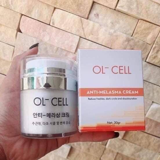 kem trị nám ol-cell anti melasma cream