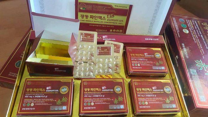 Tinh Dầu Thông Đỏ Kwangdong Pine Needle Distilled Concentrate