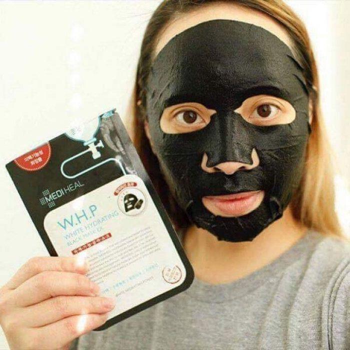 Mặt Nạ Mediheal W.H.P White Hydrating Black Mask EX