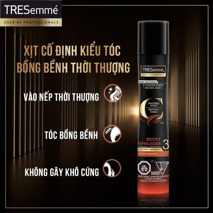 Xịt tạo kiểu tóc TRESemme Compressed Micro Mist