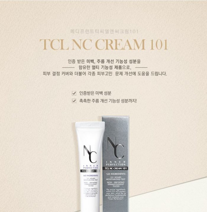 Kem nền Medifferent Nc Inner Perfection Tcl Nc Cream