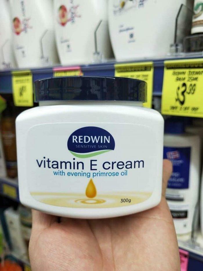 Kem dưỡng Redwin Vitamin E cream