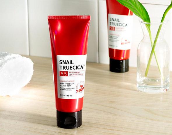 Sữa rửa mặt Some by Mi Snail Truecica Miracle Repair Low PH Gel Cleanser