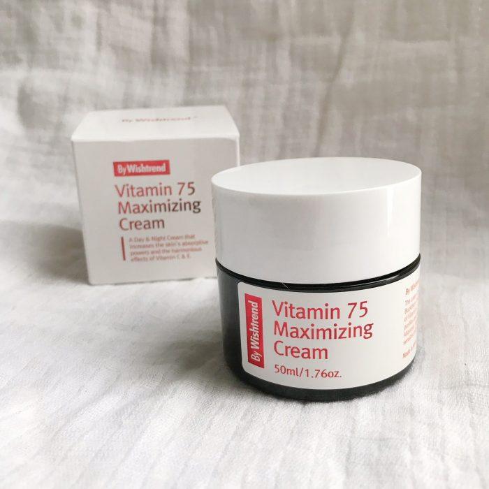 Kem Dưỡng By Wishtrend Vitamin 75 Maximizing Cream
