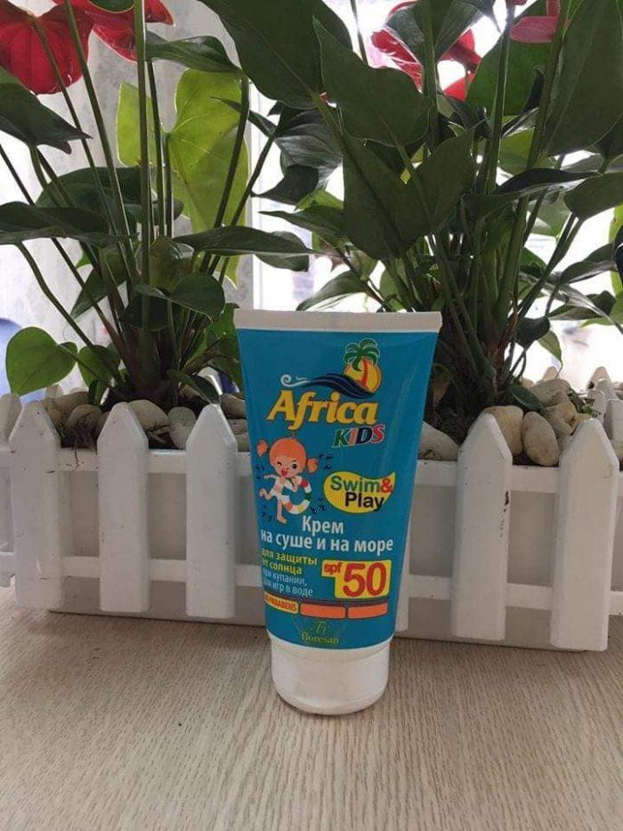 Kem chống nắng Africa Kids Swim & Play SPF50