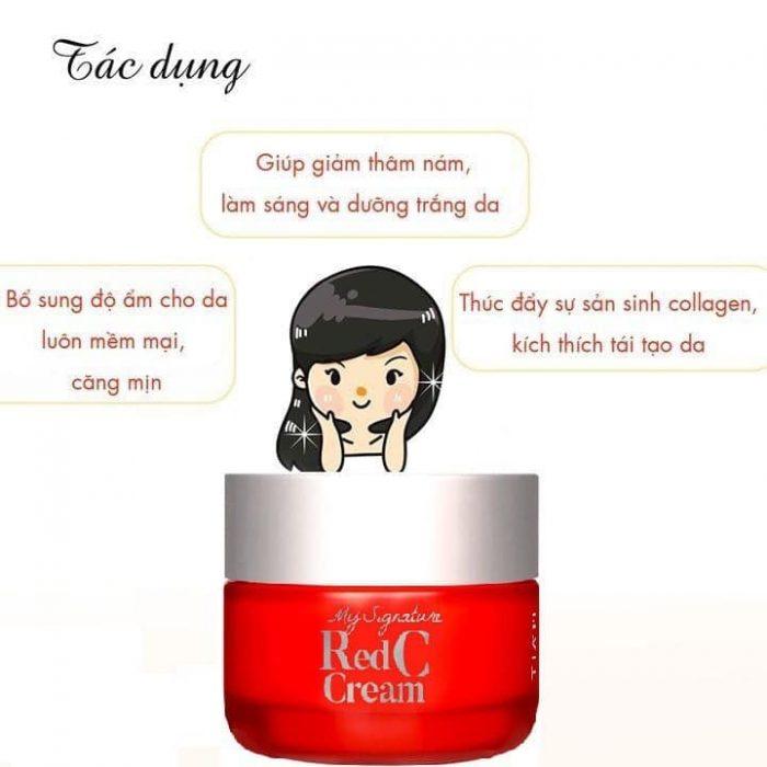 Kem dưỡng TIAM My Signature Red C Cream