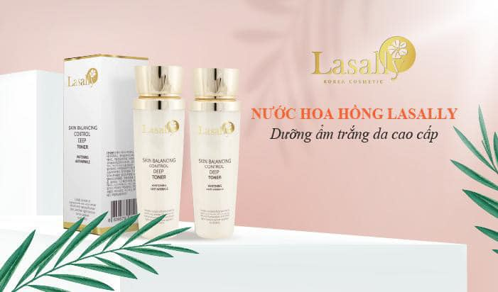 """Nước Hoa Hồng Lasally skin balancing control deep toner"""" width="""