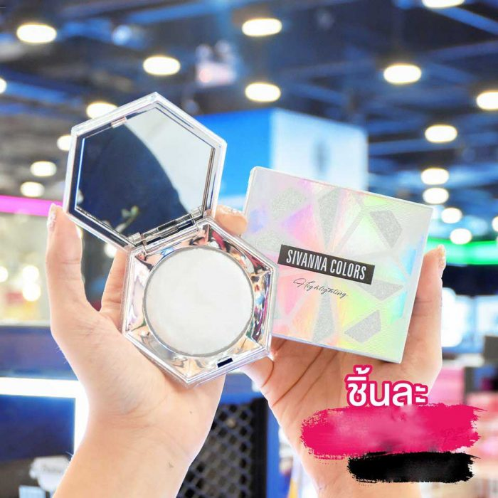 Phấn Bắt Sáng Sivanna Colors Ultra Diamond Highlighter Powder