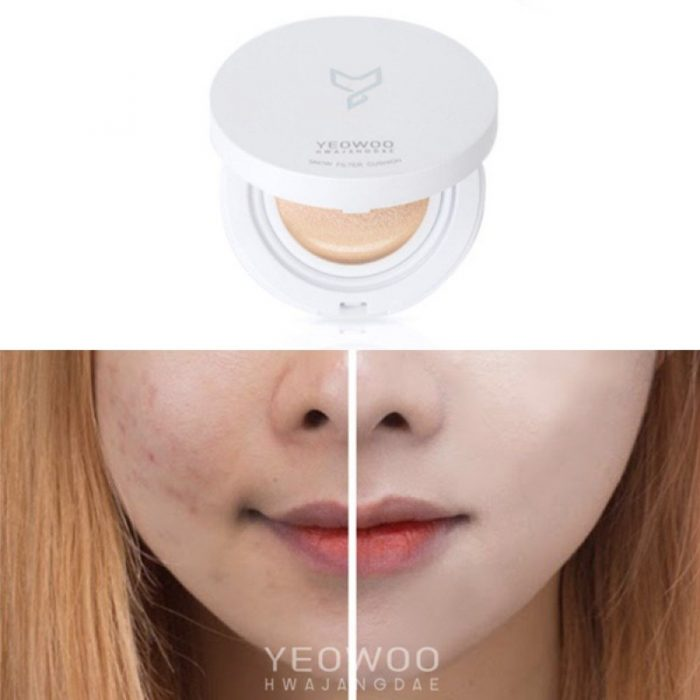 Phấn nước Yeowoo Hwajangdae Snow Filter Cushion