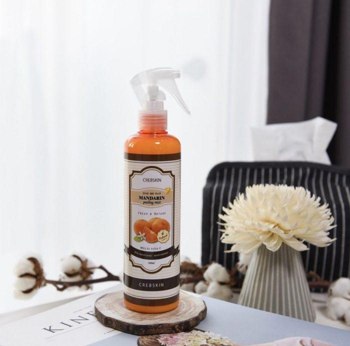 Tẩy Da Chết Cre8Skin Mandarin Peeling Mist