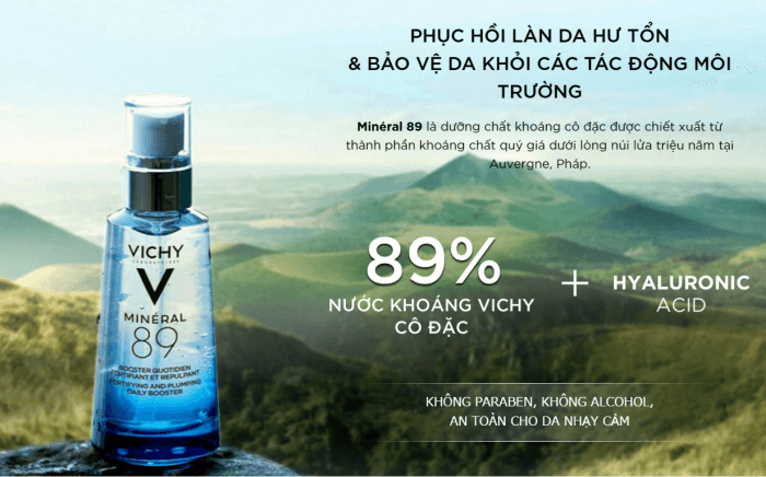serum Vichy Mineral 89 Skin Fortifying Daily Booster