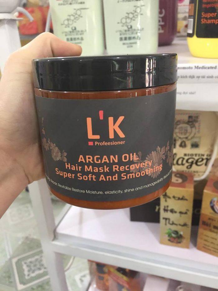 Ủ tóc L'K Argan oil
